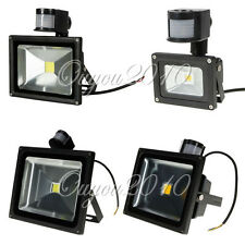 10W 20W 30W 40W 50W LED PIR Motion Sensor Security Spot Flood Light Lamp White