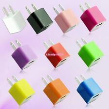 Multicolor AC Wall Charger For Iphone Ipod Touch USB Power Adapter Home/Travel