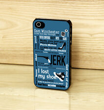 Supernatural TV Series Quotes Sam Vinchester Case Cover for iPhone & Samsung