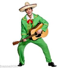 MENS TORTILLA GUY FANCY DRESS COSTUME MEXICAN BAND DORITOS MARIACHI NEW SUIT