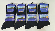Mens Diabetic Non Elastic Socks Mens Diabetic Socks Black Work Socks 3,6,12 pair