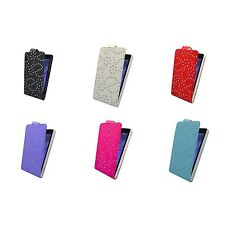 BLING GLITTER INVARIOUS COLORS PU LEATHER FLIP CASE FOR SONY XPERIA Z2