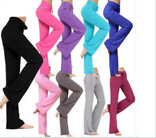 Hot sale Women Soft Comfy Yoga Sweat Lounge Gym Sports Pant Leggings CA WB