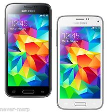 "Samsung Galaxy S5 Mini SM-G800F (FACTORY UNLOCKED) 4.5"" - Black/Blue/White/Gold"