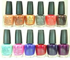 OPI Nail Polish Lacquer Nordic Fall Collection 2014 VARIETY N39 to N50