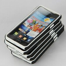 5X Colorful 2 in 1 Silicone+plastic Case For Samsung I9100 SII Clear store price