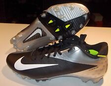 NEW NIKE VAPOR TALON ELITE LOW FOOTBALL Cleats MENS Black Silver $140 LTD NR