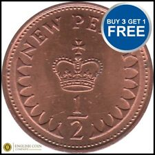 1971 to 1983 Elizabeth II DECIMAL HALF PENNY CHOOSE YOUR DATE