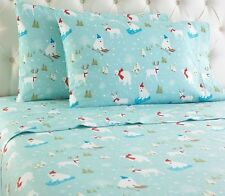 Shavel Home Products Micro Flannel® Fun in the Snow Sheet Set