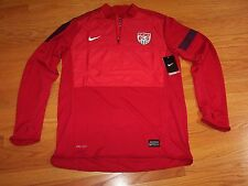 Nike 2013/14 USA TEAM Longsleeve Midlayer Training Top 1 Soccer NWT