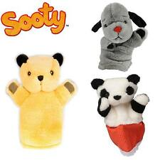 SOOTY SWEEP & SOO OFFICIAL MERCHANDISE - HAND PUPPETS - SOFT PLUSH FEEL - CITV