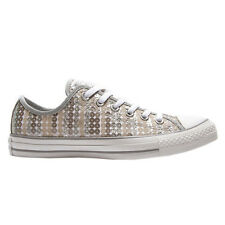 Converse CT Ox Sequins Silver Womens Trainers