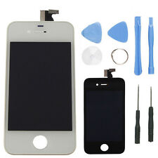 LCD Glass Assembly Touch Screen Digitizer Replacement For iphone 4 with tools bk