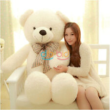 Teddy Bear Huge 100% Cotton Toy Best 70/90/100cm Soft Giant Big Plush SSUS