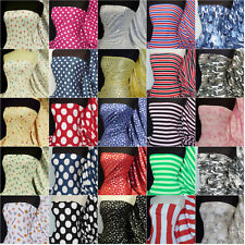 100% Cotton printed cotton interlock jersey fabric material