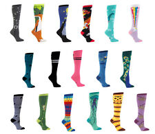 SOCK it TO me WOMENS knee HIGH tube SOCKS funny fashion ACCESSORY various STYLES