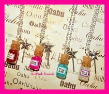 Fairy Dust Pixiie Charm Bottle Silver Magic Wand Novelty Fun Necklaces USA MADE