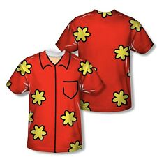 Family Guy Animated Quagmire Costume 2-Sided Sublimation Print Poly Shirt S-3XL