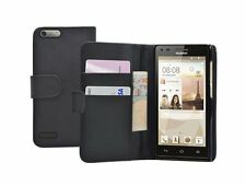 WALLET Leather Flip Case Cover Pouch for Mobile Phone Huawei Ascend G6 4G