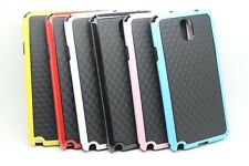 Deluxe Dual Color TPU Silicone Gel Rubber Matte Cover Case For Mobile Phone