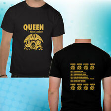 Queen and Adam Lambert Australia New Zealand Tour 2014 Excellent Men T-shirt