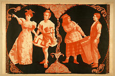 Photo Printed Old Poster Stage Theatre Misc Musical Drama Comedy Production 002
