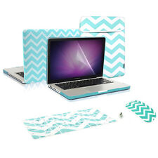 "CHEVRON Style Hard Case, KB Cover, LCD, Bag, Mouse,Macbook Pro 13""  A1278"