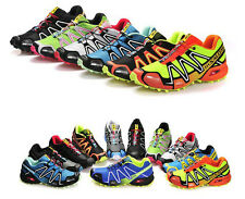 HOT 2014!!New Men's Salomon Speedcross 3 Outdoor Running Sports Shoes 9 Colour