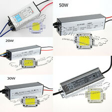 10/20/30/50/100W High Power LED Light Lamp Chip Panel&Waterproof Power Driver