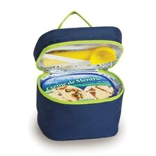 Ice Cream Carrier Navy Insulated Ice Cream Carrier Holds 1 1/2 Quarts Or 3 Pints