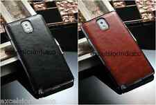 Premium Elegant Leather Back Classic cover case for Samsung Galaxy Note 3