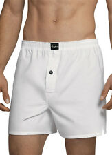 Jockey Mens Coopers Woven Boxer Underwear Boxers 100% cotton