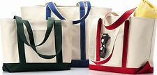 Liberty Bags Windward Large Cotton Canvas Classic Boat Tote 8871