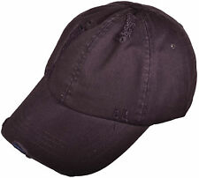 Mega Cap Low Profile Washed Cotton Twill Distressed Cap 6891