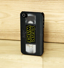 Star Wars VHS Tape Vintage Evolution Case Cover for iPhone Samsung & HTC Phones