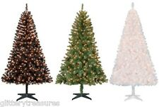 Pre-Lit 6.5' Madison Pine Artificial Christmas Tree Clear Lights-MULTIPLE COLORS
