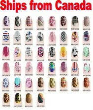 Melodi Glitter Authentic Pro Quality Nail Wrap Patch Stickers 14pcs Ultra-thin