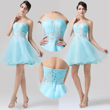 SALE CHARM❤ Girls Short Sweet Prom Cocktail Evening Party Homecoming Mini Dress