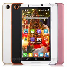 "5.0"" Unlocked Android 3G/GSM GPS WiFi Mobile Smartphone Cell Phone 5MP Quad Core"