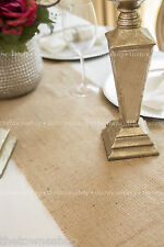 "Burlap Table Runner(s) 12"" wide - Weddings & Special Events-Many size variations"