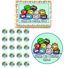 PUFFLES CLUB PENGUIN Edible Party Birthday Cake Topper Cupcake Image Decoration