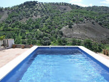 -HOLIDAY COTTAGE IN SPAIN, PRIVATE POOL, 1 HOUR FROM MALAGA, TV &  WiFi STUNNING