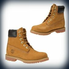 Womens Timberland 6 in Premium Field Boot - Wheat - 10361