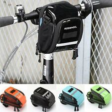 Bicycle Bike Cycling Front Frame Tube Handlebar Pannier Pouch Bag Waterproof