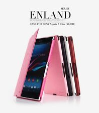 For Sony Xperia Z Ultra KLD Enland PU Leather Flip Case Cover Pouch C6833 C6802