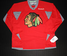 Chicago Blackhawks Red Practice Jersey Made By Reebok Officially licensed