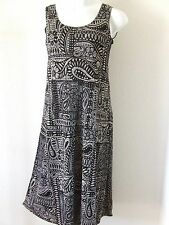 Travel Knit Dress, Long A-Line Tank, NEW, stretchy wash&wear poly/span #831