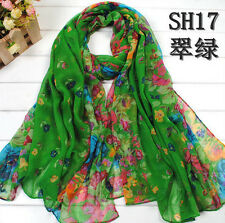 HOT ladies scarf Women's cotton Candy Long Crinkle Soft Scarf Wraps Shawl Flower