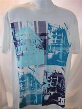 Mens new DC Shoes Construct shirt size medium white nwt skate surf