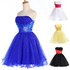 CHEAPEST New Short prom dresses Mini Graduation Banquet Evening Party Dresses
